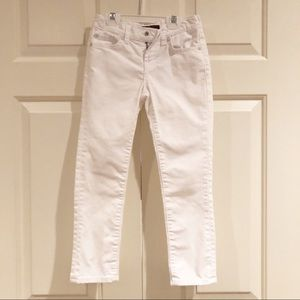 7 for all Mankind girls jeans white 6X